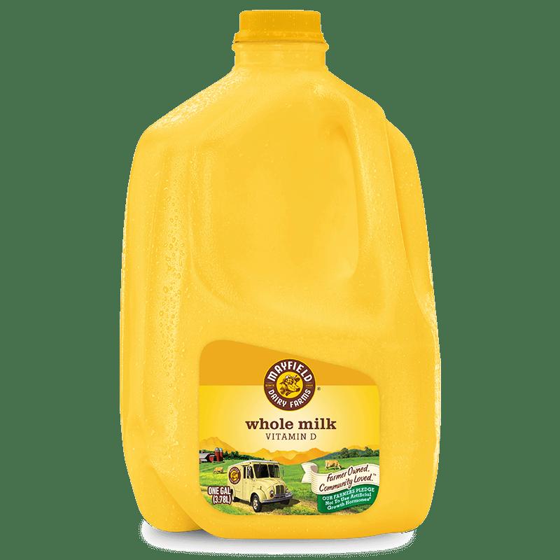 Whole Milk Plastic Gallon