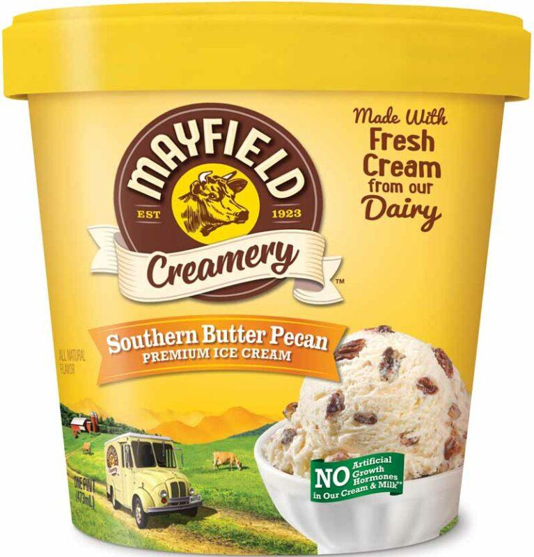 Southern Butter Pecan Ice Cream Pint