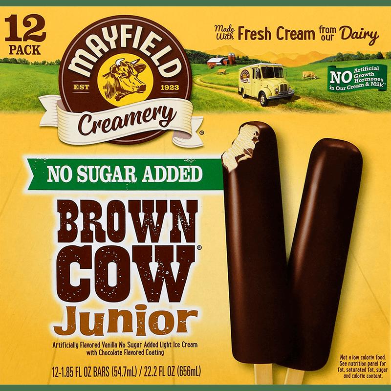 Brown Cow™ Junior Bars (No Sugar Added) 12 Pk