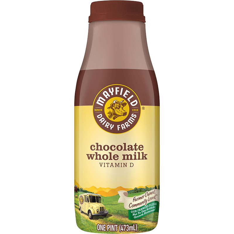 Whole Chocolate Milk Plastic Pint