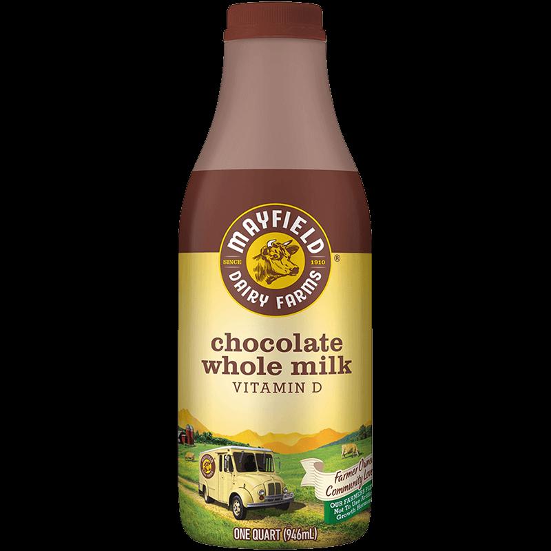 Whole Chocolate Milk Plastic Quart