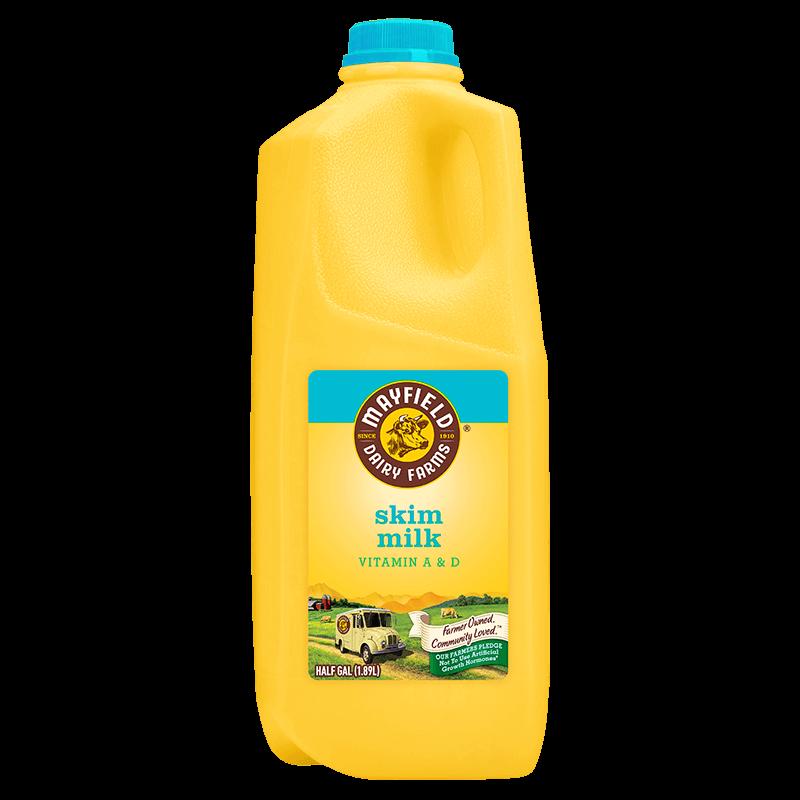 Fat-Free Milk Plastic Half Gallon