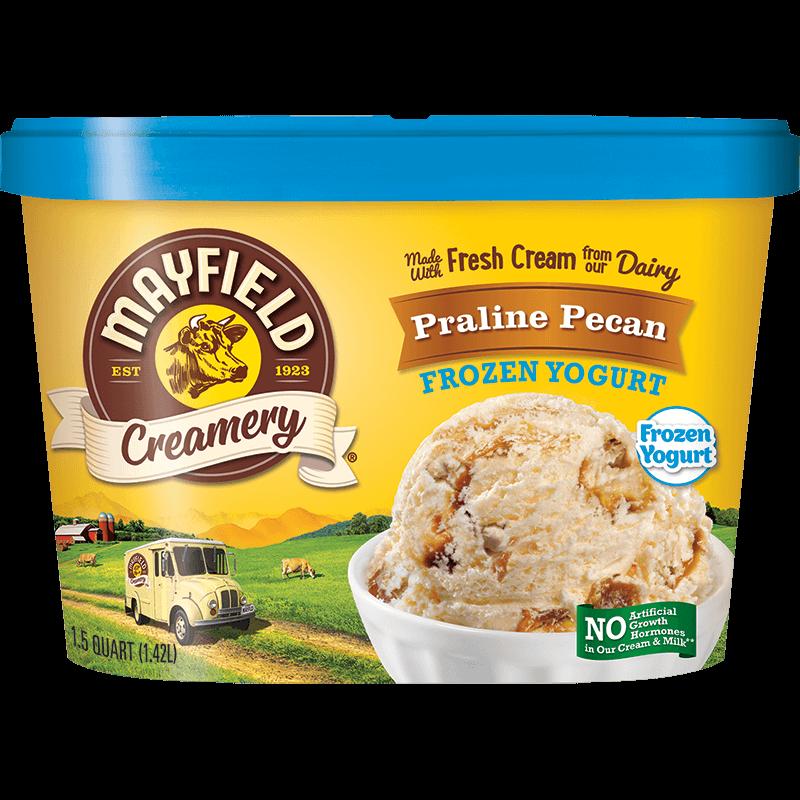 Praline Pecan Frozen Yogurt 1.5 Quart