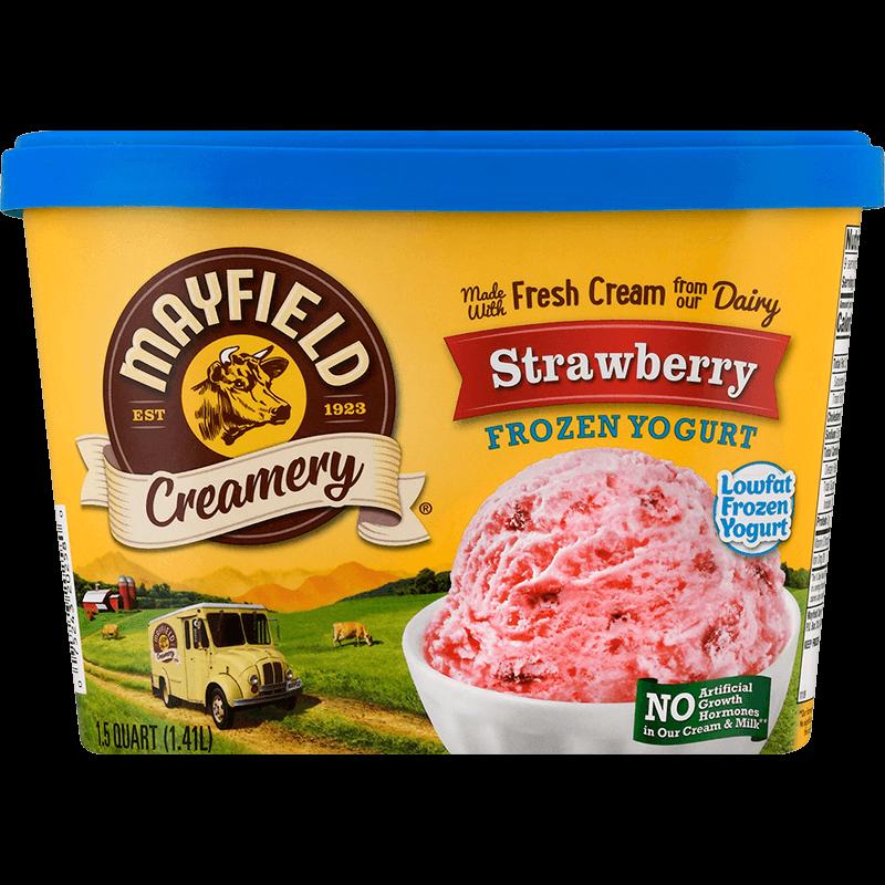 Strawberry Frozen Yogurt 1.5 Quart