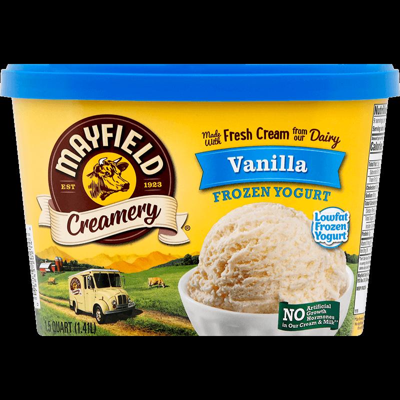 Vanilla Frozen Yogurt 1.5 Quart