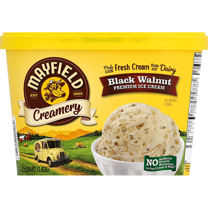 Black Walnut Ice Cream 1.5 Quart