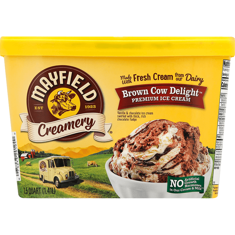 Brown Cow Delight™ Ice Cream 1.5 Quart