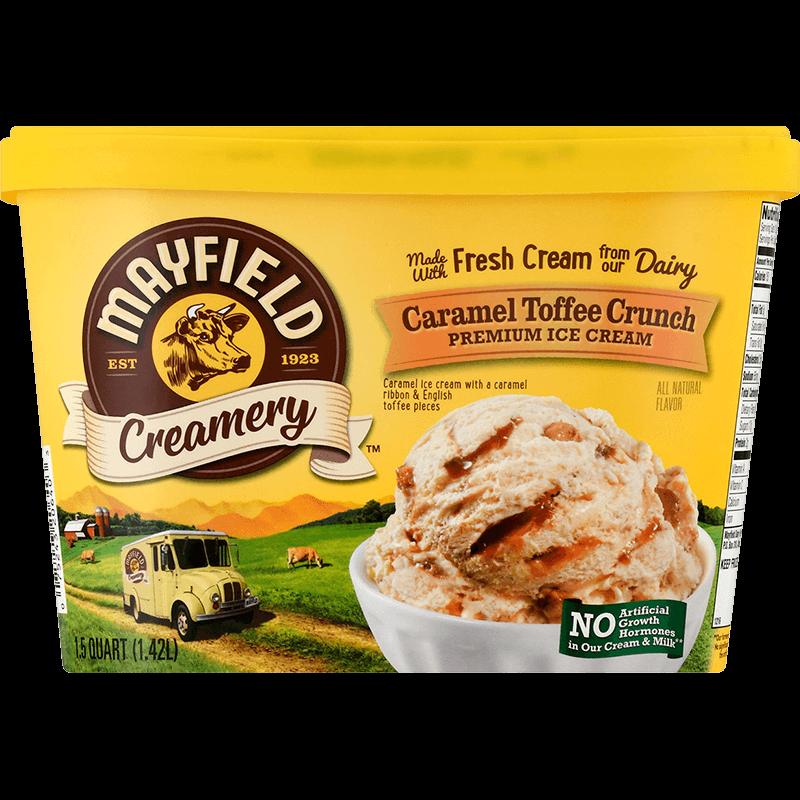Caramel Toffee Crunch Ice Cream 1.5 Quart