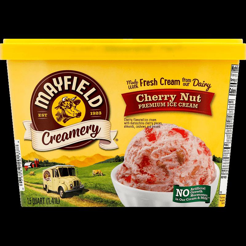Cherry Nut Ice Cream 1.5 Quart