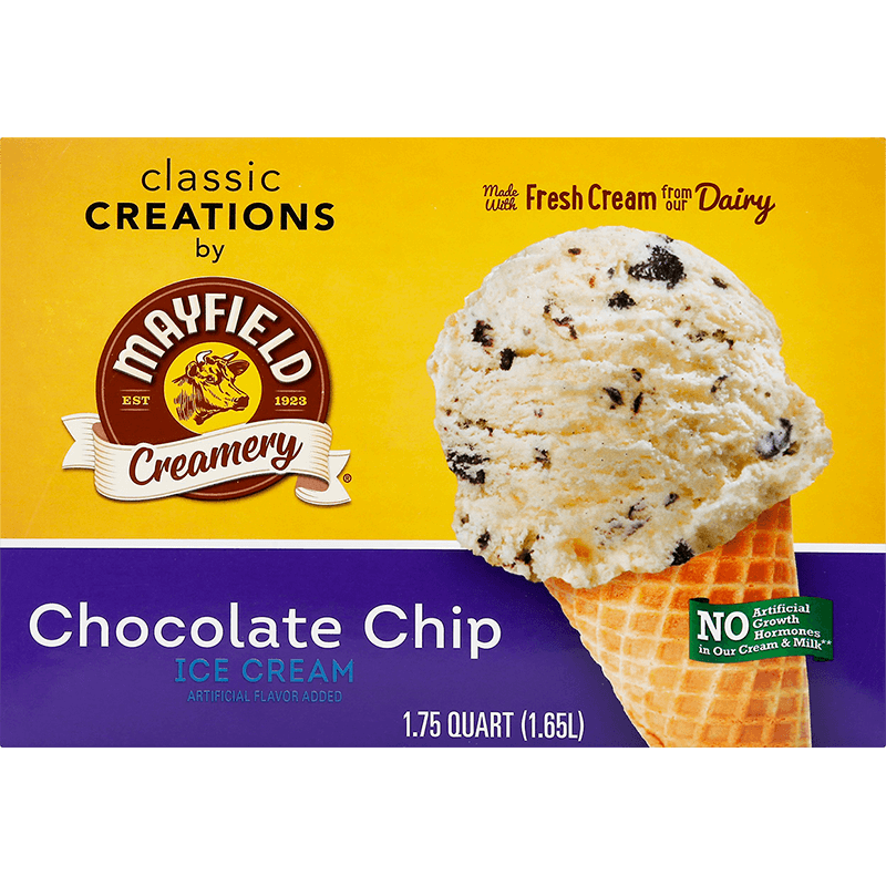 Chocolate Chip Ice Cream 1.75 Quart