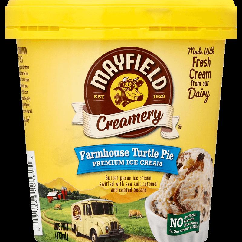 Farmhouse Turtle Pie Ice Cream Pint