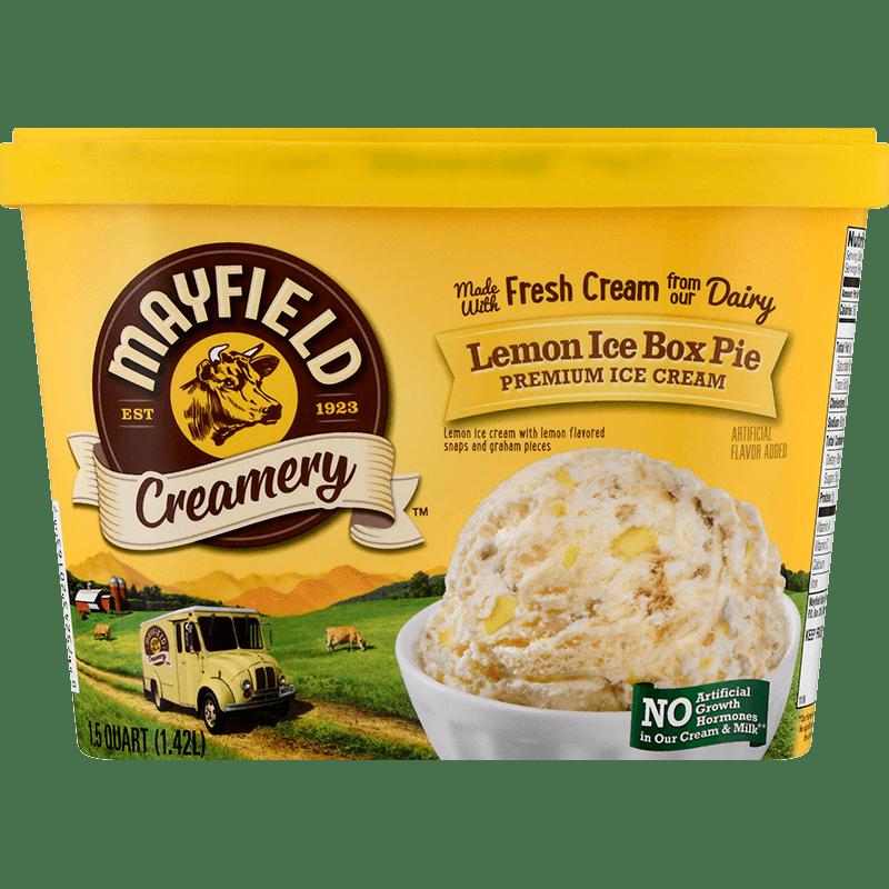Lemon Ice Box Pie Ice Cream 1.5 Quart