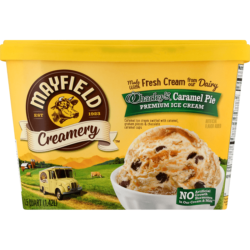O'Charley's® Caramel Pie Ice Cream 1.5 Quart