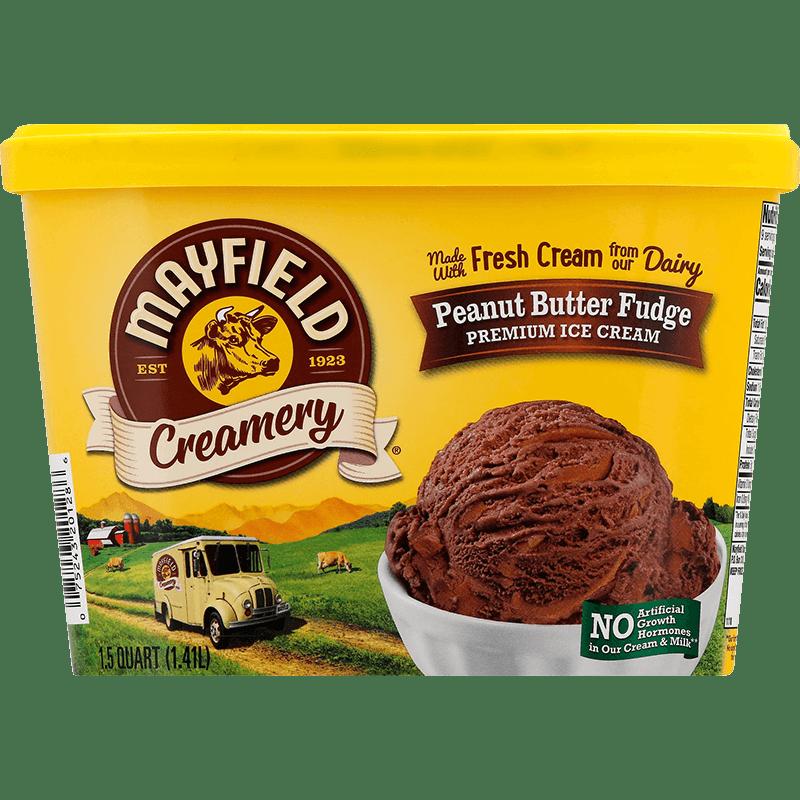 Peanut Butter Fudge Ice Cream 1.5 Quart