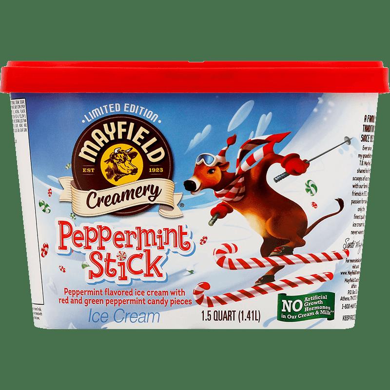 Peppermint Stick Limited Edition Ice Cream 1.5 Quart