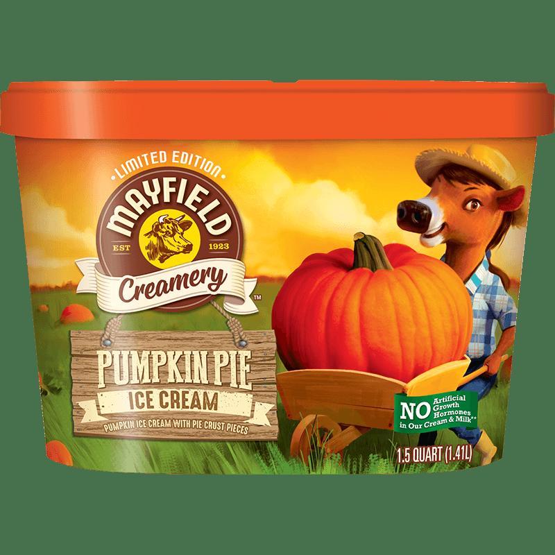 Pumpkin Pie Limited Edition Ice Cream 1.5 Quart