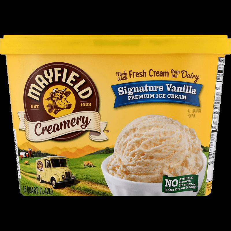 Signature Vanilla Ice Cream 1.5 Quart
