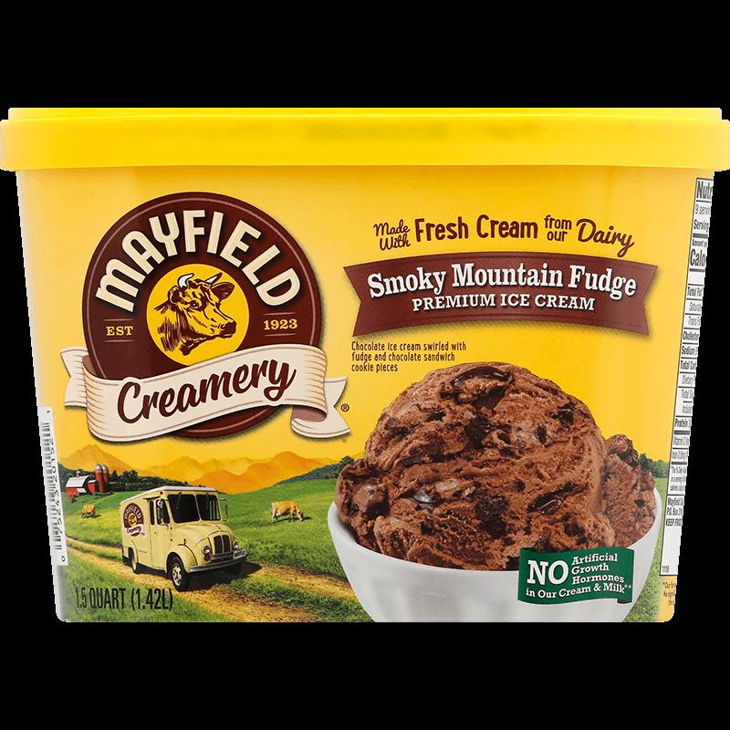 Smoky Mountain Fudge Ice Cream 1.5 Quart