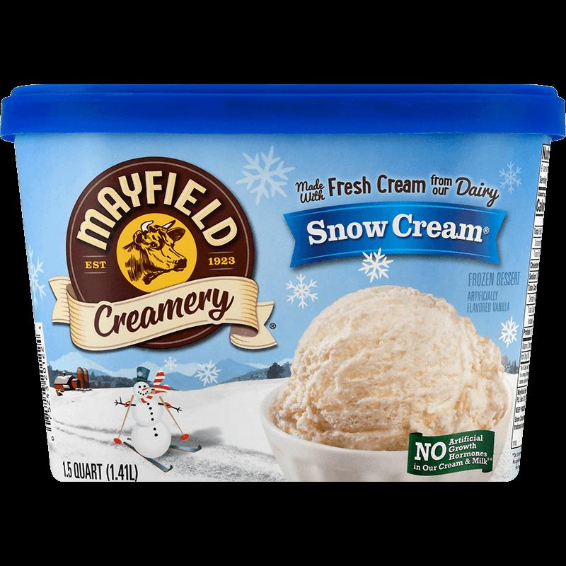 Snow Cream® Ice Cream 1.5 Quart