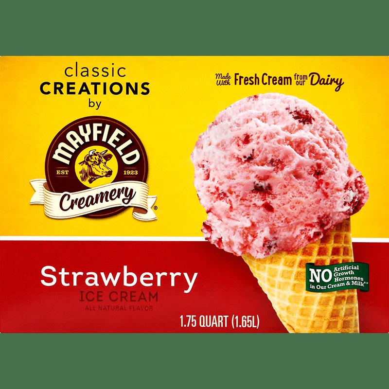 Strawberry Ice Cream 1.75 Quart