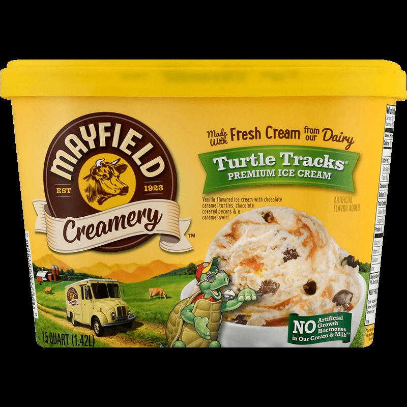 Turtle Tracks® Ice Cream 1.5 Quart