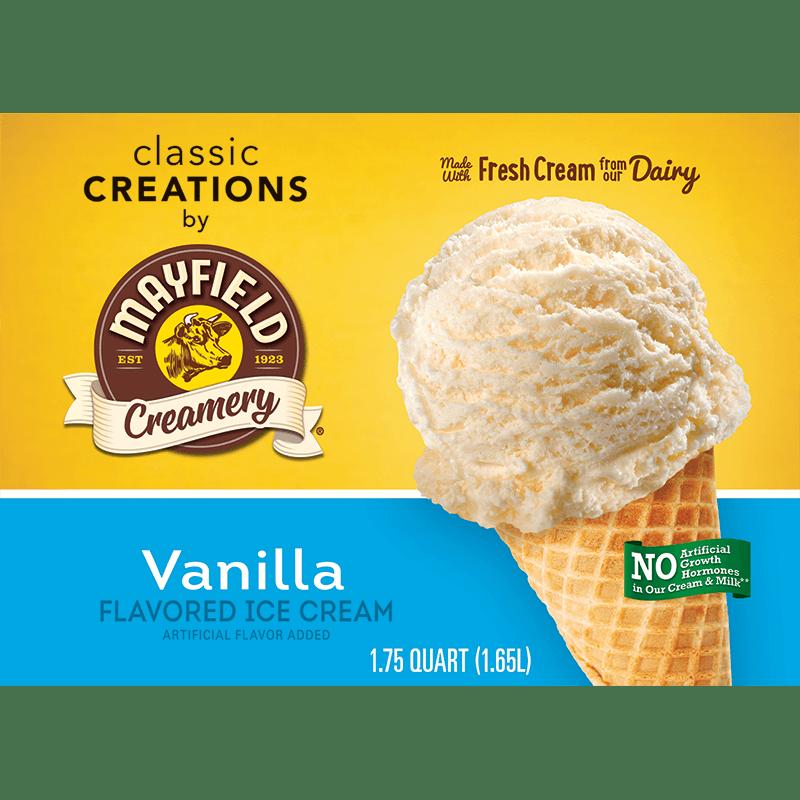 Vanilla Ice Cream 1.75 Quart