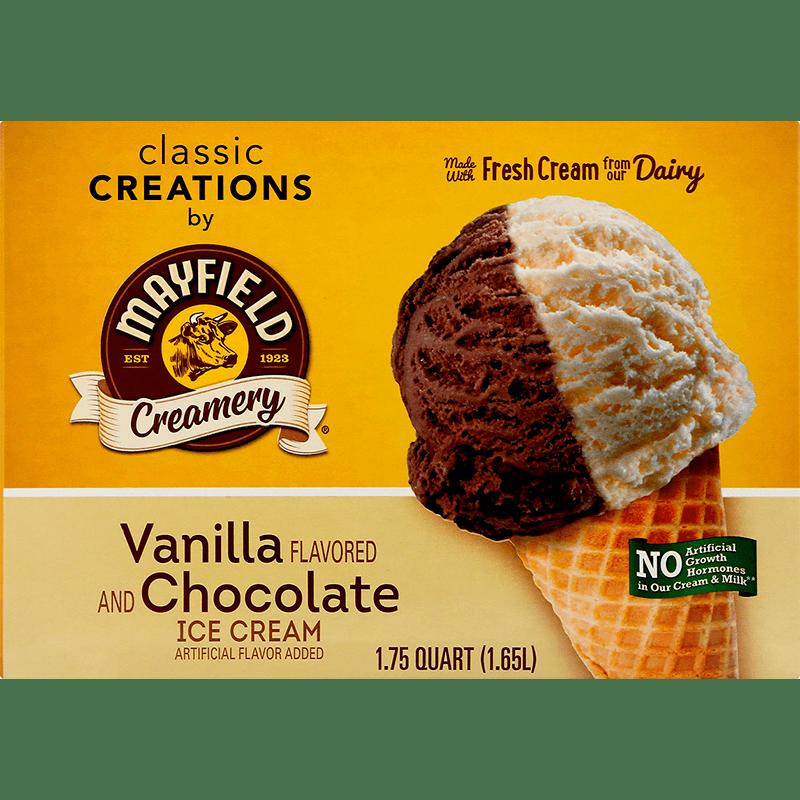 Vanilla Chocolate Ice Cream 1.75 Quart