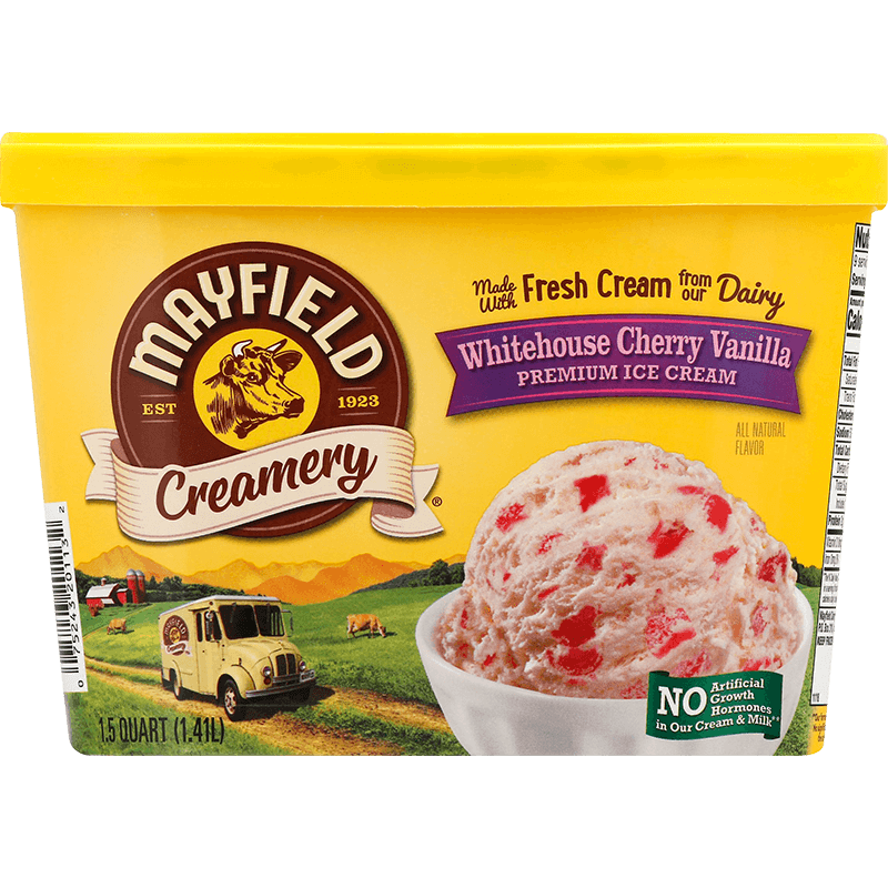 Whitehouse Cherry Vanilla Ice Cream 1.5 Quart