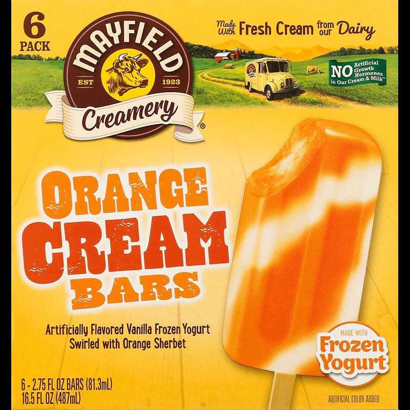 Orange Cream Bars 6 Pk
