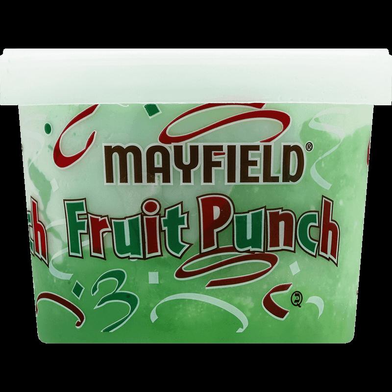 Green Fruit Punch Sherbet Half Gallon