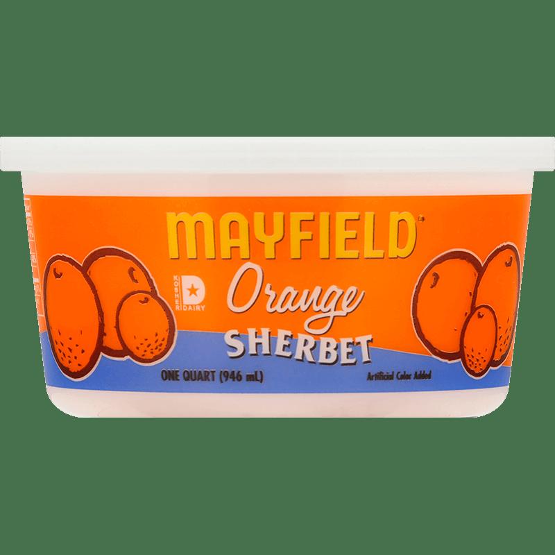Orange Sherbet Quart