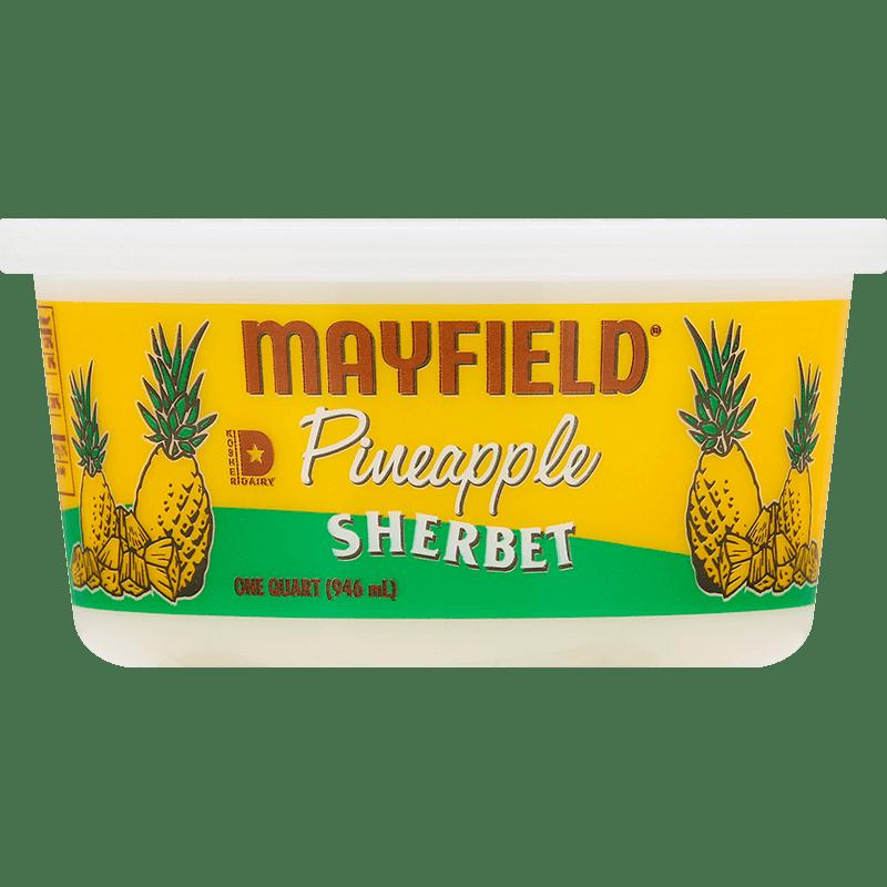 Pineapple Sherbet Quart