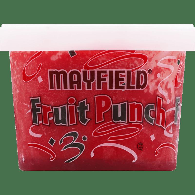 Red Fruit Punch Sherbet Half Gallon