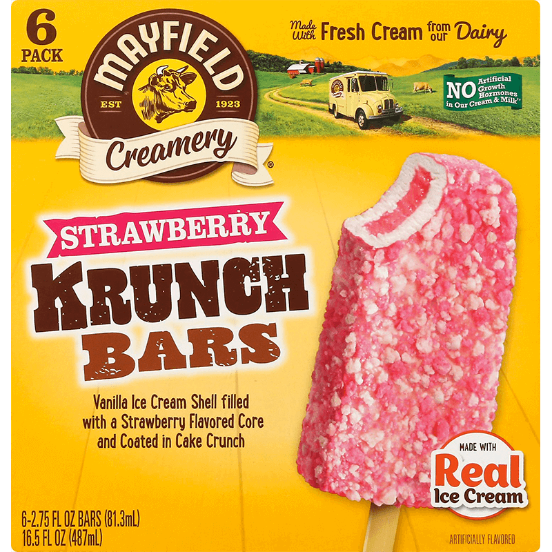 Strawberry Krunch Bar 6 Pk