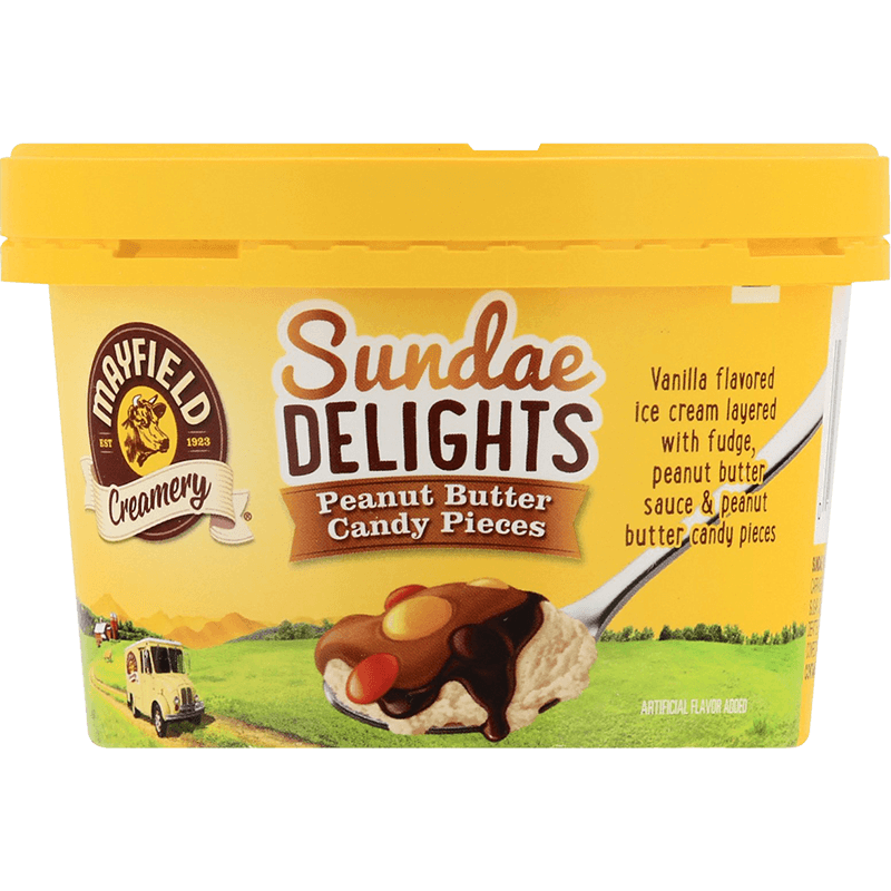Sundae Delights Peanut Butter Candy Pieces 6 oz.
