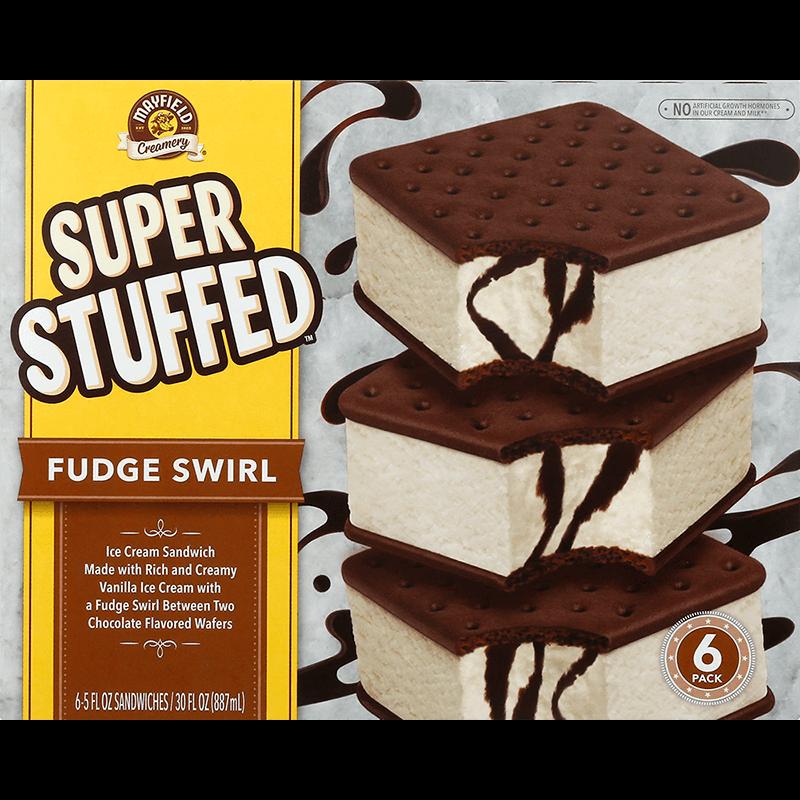 Super Stuffed™ Fudge Swirl 6 Pk