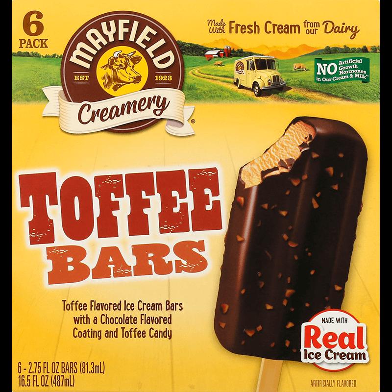 Toffee Bars 6 Pk