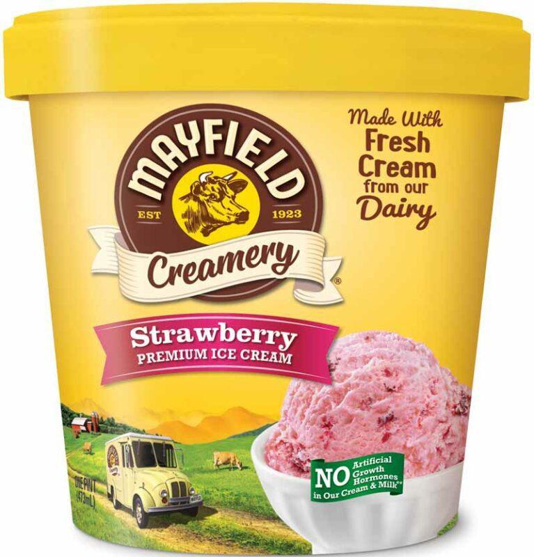 Strawberry Ice Cream Pint